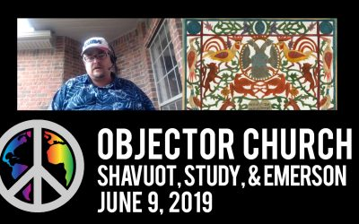 Shavuot, Study, & Emerson