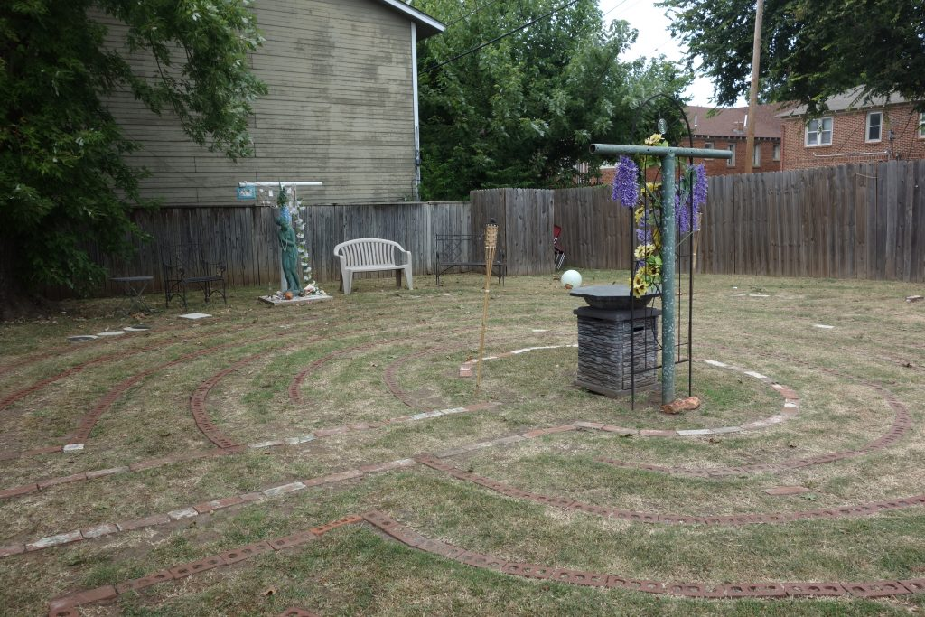 Labyrinth Temple labyrinth in Oklahoma City